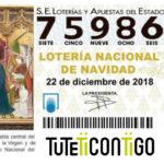 Compartimos nuestro décimo de Lotería Contigo ¡Participa!