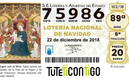participacion lotería tuteticontigo 2018