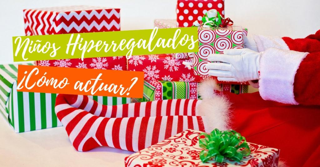 regla de los cuatro regalos niños