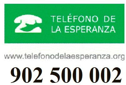 número de teléfono contra el suicidio del teléfono de la esperanza