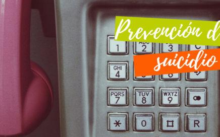 teléfonos de prevención del suicidio