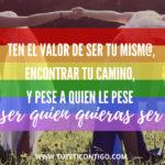 """Día del Orgullo Gay """"Libertad para Ser quién quieras SER"""""""