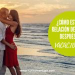 Crisis de pareja en verano o después de vacaciones